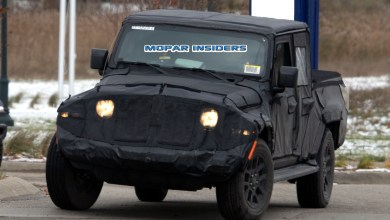 Photo of CAUGHT: 2020 Jeep Gladiator Overland On The Street: