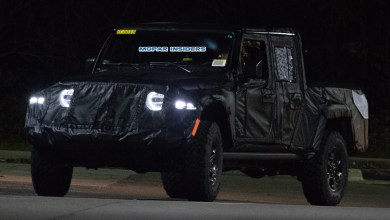 Photo of CAUGHT: 2020 Jeep Gladiator (JT) Night Testing: