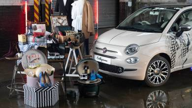 Photo of FIAT & Vogue Auction Off Custom 500 For Cancer Charity: