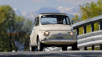 Photo of Fiat 500 on Public Display at The Museum of Modern Art in New York: