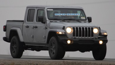 Photo of CAUGHT: 2020 Jeep Gladiator Sport S Model Out Testing: