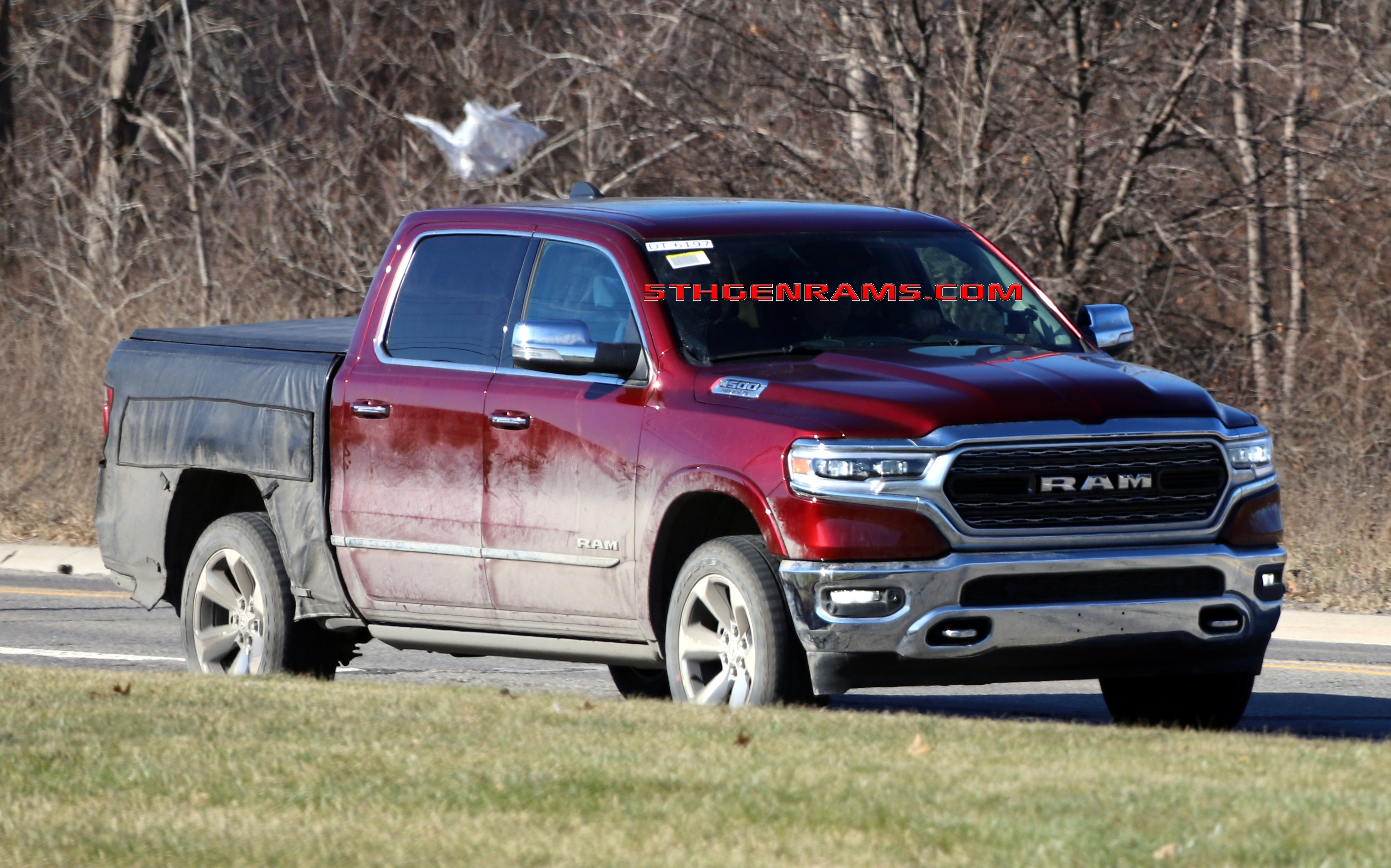 another ram 1500 prototype proves there is something in