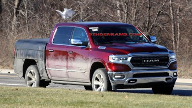 Photo of Another Ram 1500 Prototype Proves There Is Something In The Works For FCA's Truck Brand: