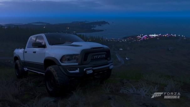 Ram 1500 Rebel TRX Concept in Forza Horizon 4 - Fortune Island. (MoparInsiders).
