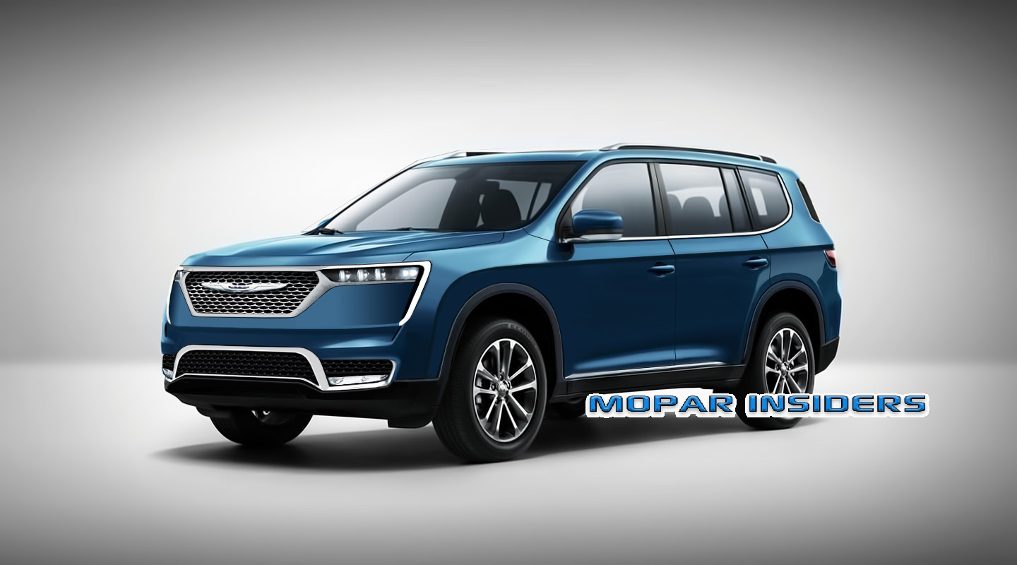 2021 Chrysler Aspen Redesign and Review