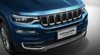 2019 Jeep Commander. (Jeep China).