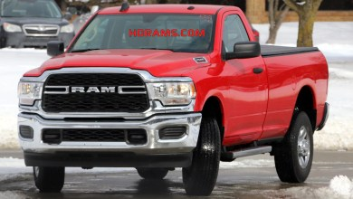 Photo of SPOTTED: 2019 Ram 2500 Tradesman Regular Cab: