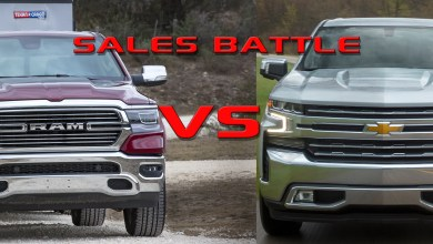 Photo of The Battle For #2 In Full Size Truck Sales: