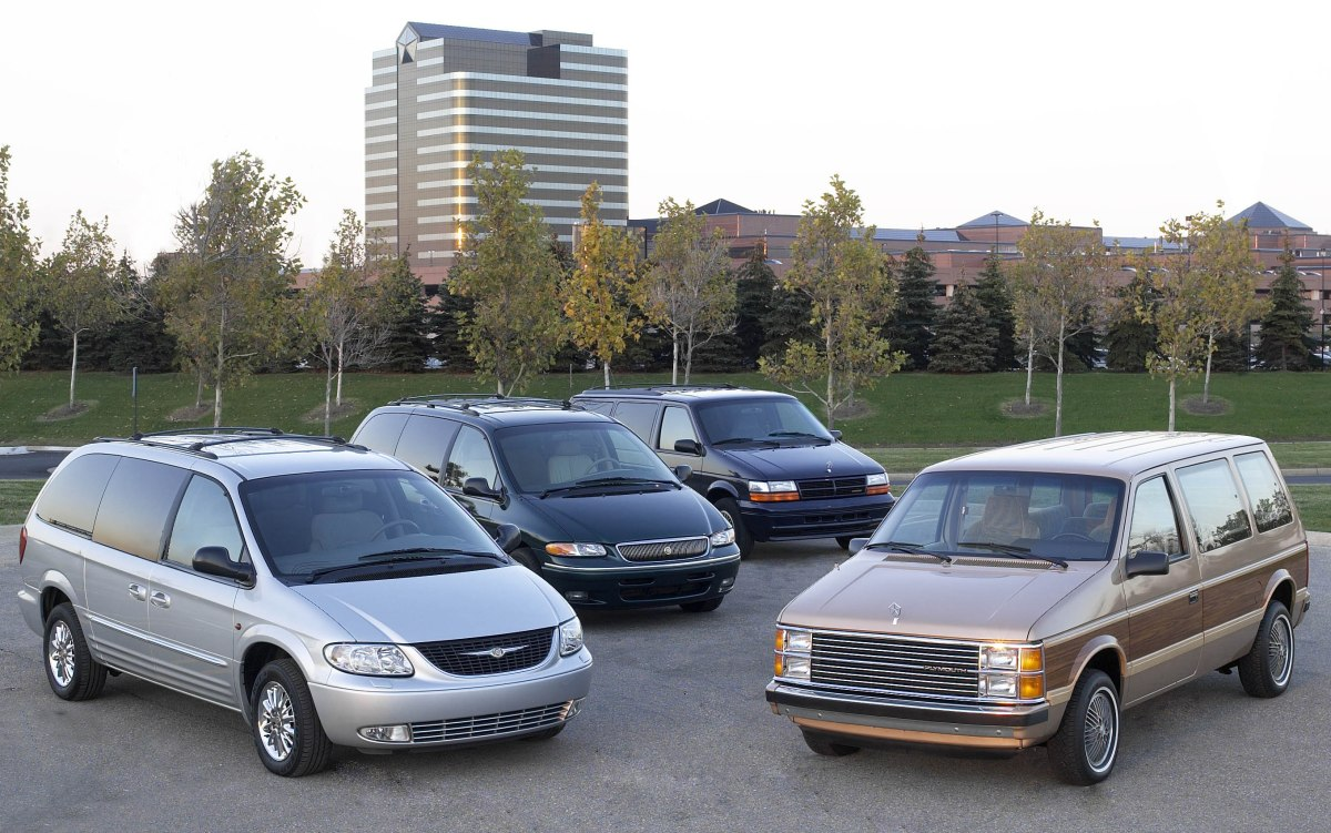 New Book Tells History Of Creation Of The Minivans: