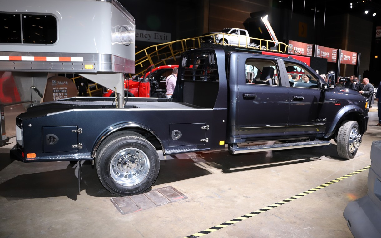 Ram Launches Luxury Chassis Cab Model Trim For 2019 Mopar