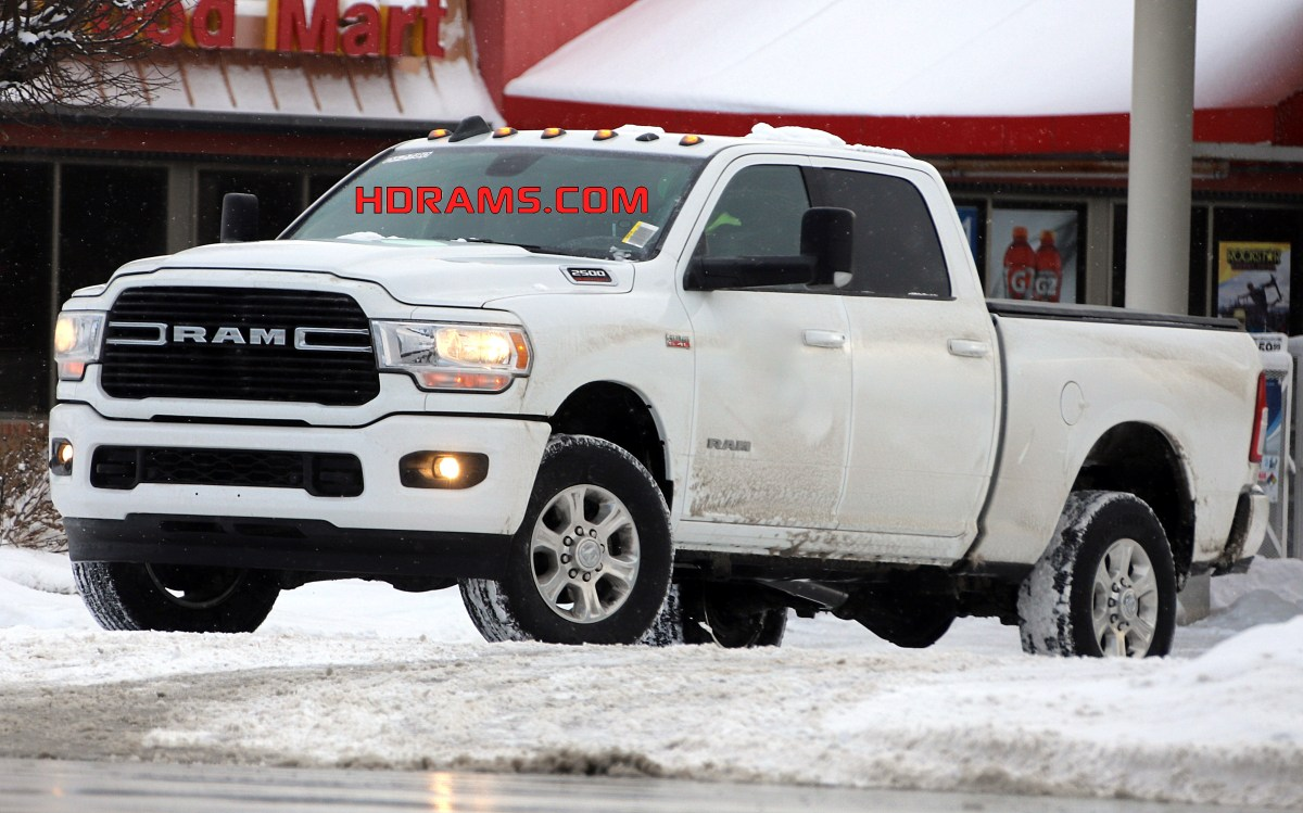 CAUGHT: Production-Spec 2019 Ram 2500 Big Horn Sport 4x4: