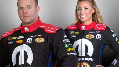 Photo of LIVE: Facebook Broadcast With NHRA Stars Matt Hagan & Leah Pritchett: