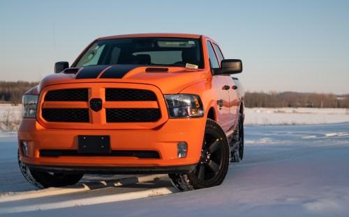2019 Ram 1500 Express Ignition Orange Limited Edition. (400 Chrysler/Dodge/Jeep/Ram).