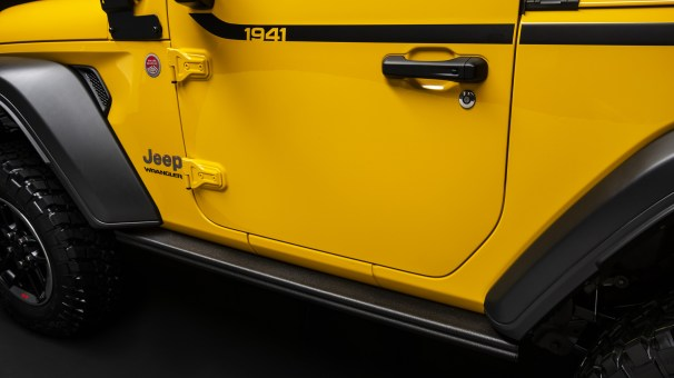 Jeep® Wrangler Rubicon 1941 Designed By Mopar. (Mopar).