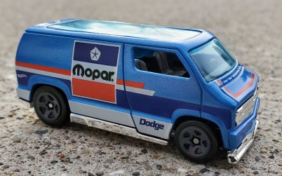 Mopar Hot Wheels Custom '77 Dodge Van. (MoparInsiders).