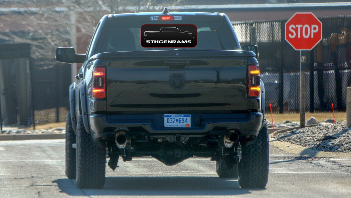 CAUGHT: 2021 Ram 1500 Rebel TRX Mule Testing On The Streets: