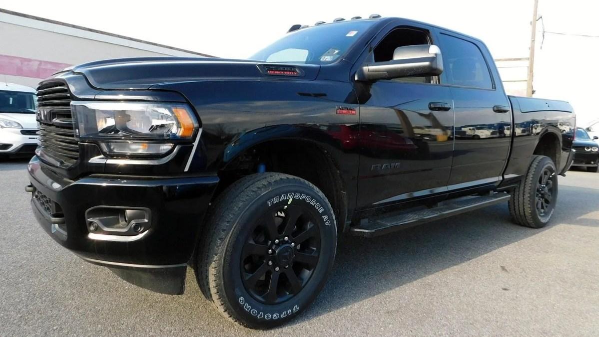 Ram Heavy Duty Big Horn Black Hits Dealer Showrooms: