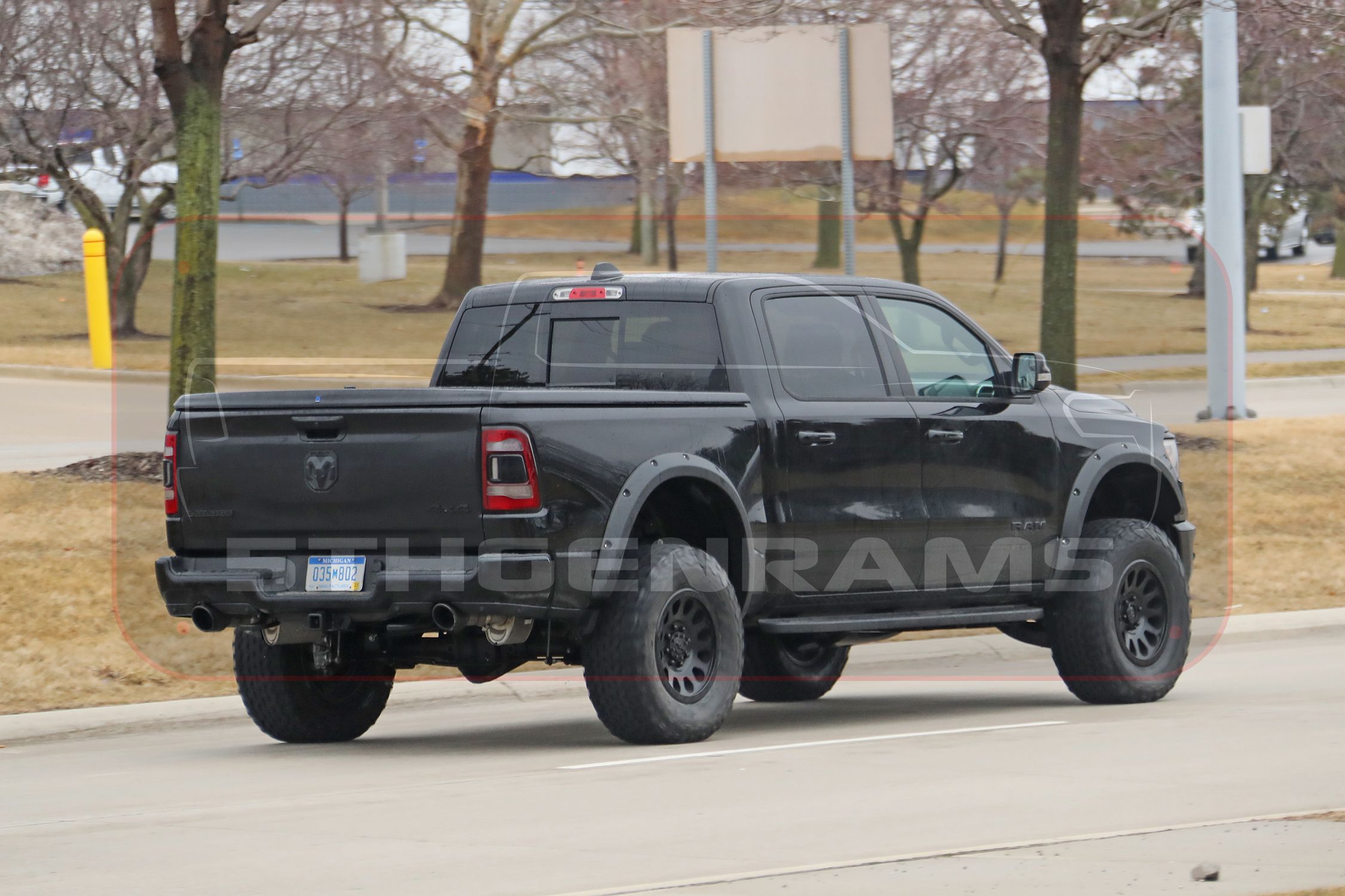 Video New Photos And Video Of The 2021 Rebel Trx Prototype Mopar