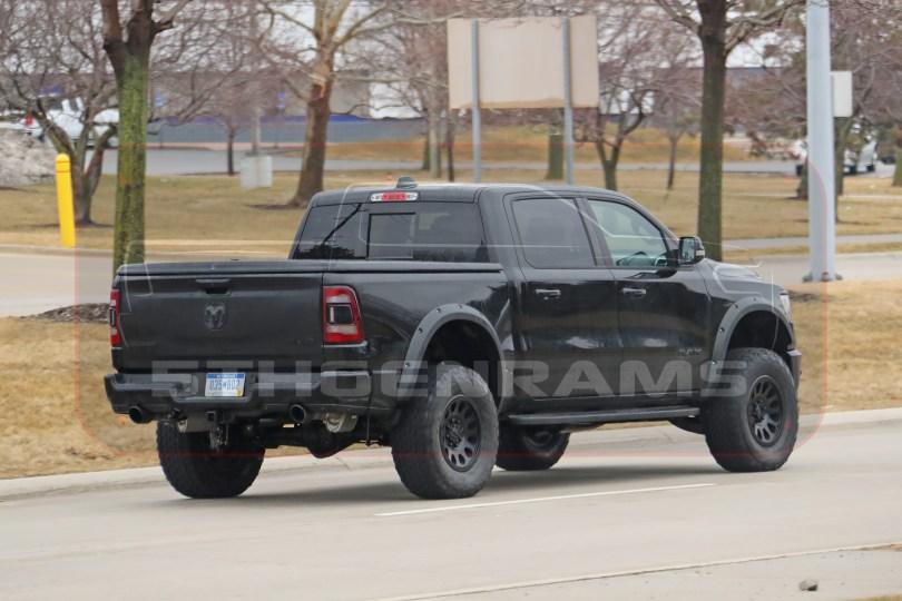 2021 Ram 1500 Rebel TRX Prototype. (Spiedbilde Photography).