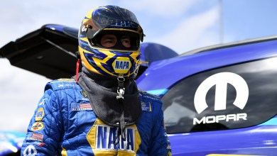 Photo of Capps Drives To No. 2 Spot In Qualifying At Vegas NHRA 4Wide Nationals: