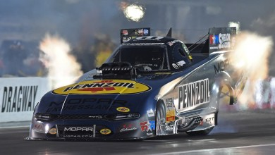 Photo of Dodge NHRA Teams Go Four Wide At zMAX Dragway: