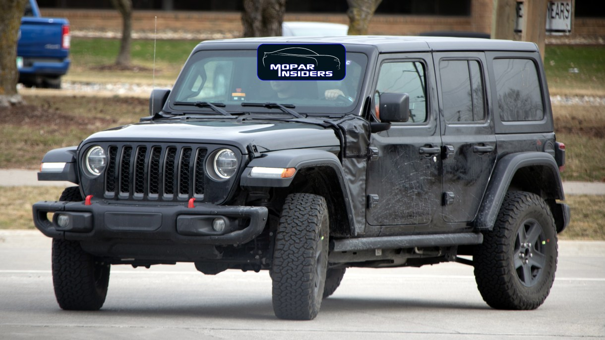 2021 Jeep Wrangler Plug-in Hybrid >> Caught 2020 Jeep Wrangler Unlimited Phev Mopar Insiders