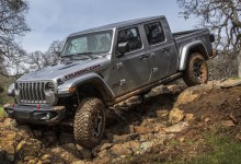 Jeep Gladiator european debut