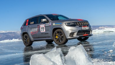 Photo of Jeep® Grand Cherokee Trackhawk Sets New Speed Record On Ice: