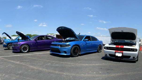 Between Races at Alamo City Motorplex. (MoparInsiders).