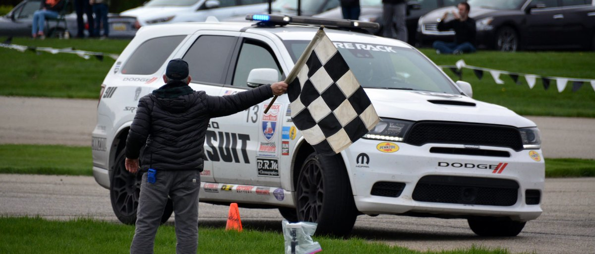 797 Horsepower Durango SRT Wins Truck/SUV Class At One Lap Of America: