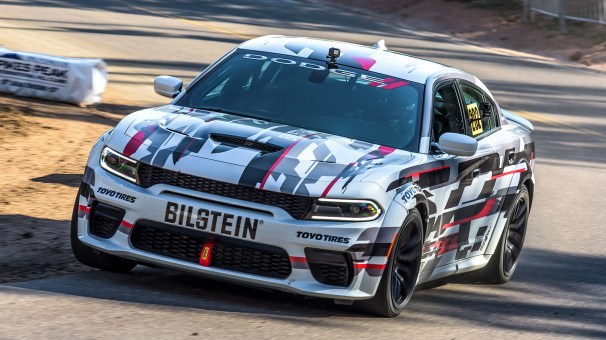 2020 Dodge Charger SRT HELLCAT Widebody Race Car. (Dodge).