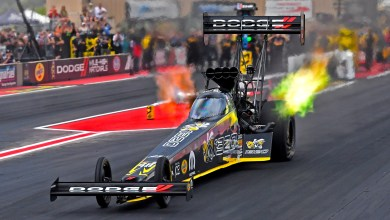 "Photo of Pritchett Puts ""Angry Bee"" Dragster In No. 2 Qualifying Spot:"