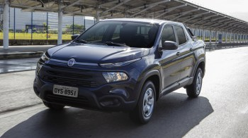2020 Fiat Toro Endurance 1.8 Flex AT6. (FIAT Brazil).