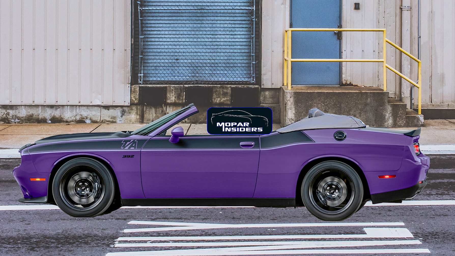 Dodge Challenger Convertible >> A Dodge Challenger Convertible In The Works Not Just Yet