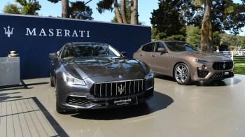 2020 Maserati Quattroporte S Q4 GranLusso Zegna Edition & 2020 Maserati Levante S GranSport Zegna Edition. (Maserati).