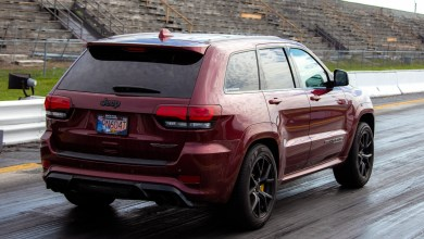Photo of Drag Racing Our Trackhawk In Ontario After An Across Country Trip:
