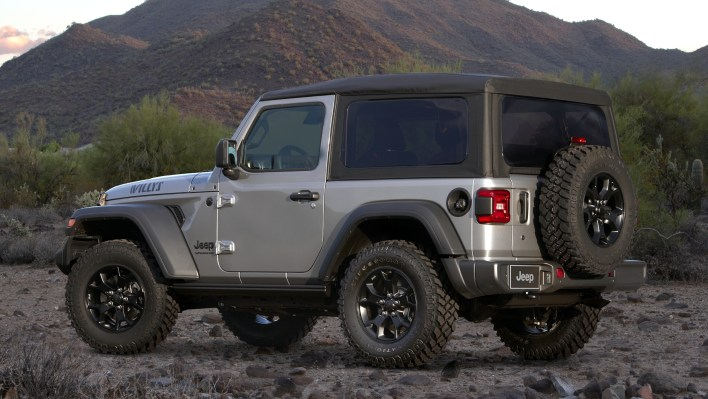 jeep® wrangler willys will return for 2021 model year