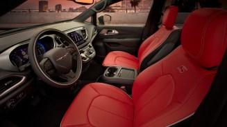 2020 Chrysler Pacifica Red S Edition. (Chrysler).