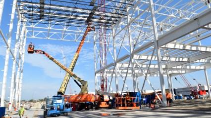 Mack Avenue Assembly Plant Paint Shop Construction. (FCA).