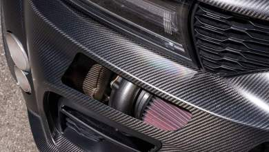 Photo of SpeedKore/Magnaflow Create Carbon Fiber Twin-Turbo AWD Charger Widebody For SEMA:
