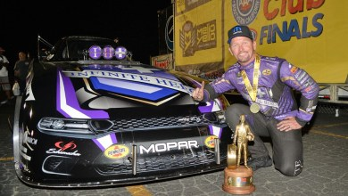"""Fast Jack"" Beckman won the 2019 Auto Club NHRA Finals. (Mopar)."