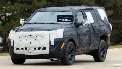 Photo of CAUGHT: 2021 Jeep® Wagoneer In Production Body Form: