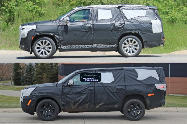 caught 2021 jeep® wagoneer in production body form