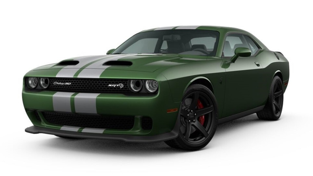 50th Anniversary Of The Dodge Challenger Kicking Off
