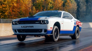 Photo of Mopar Shows Off Its Supercharged HEMI 2020 Dodge Challenger Drag Pak: