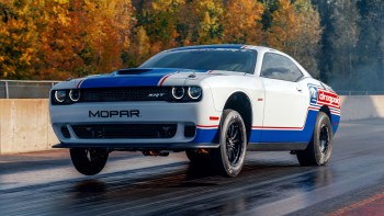 2021 Mopar Dodge Challenger Drag Pak. (Mopar).