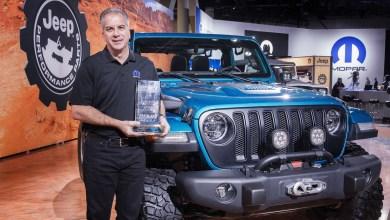 """Photo of Jeep® Wrangler Wins 10th Consecutive """"4×4/SUV of the Year"""" Award At SEMA:"""