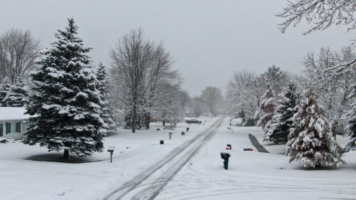 Metro Detroit First Snowfall Of 2019. (MoparInsiders).