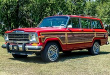 "Photo of CHECK THIS OUT: A HELLCAT-Powered Jeep Grand Wagoneer ""HellWagon"":"