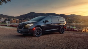 The new 2021 Chrysler Pacifica (shown here in the Limited S model) will offer America's most capable minivan with all-wheel-drive and the most standard safety features in the industry.